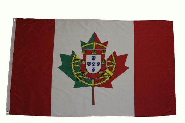 PORTUGAL / CANADA 3' X 5' Feet Country FLAG BANNER