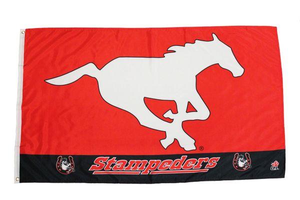 STEMPEDERS - Canadian Football League Logo 3' X 5' Feet FLAG BANNER