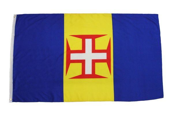 MADEIRA ( PORTUGAL ) Country 3' X 5' Feet FLAG BANNER