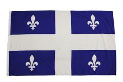 QUEBEC Large 3' X 5' Feet Provincial FLAG BANNER