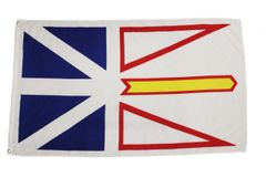 NEWFOUNDLAND & LABRADOR Large 3' X 5' Feet Provincial FLAG BANNER