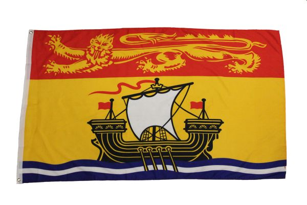 NEW BRUNSWICK Large 3' X 5' Feet Provincial FLAG BANNER