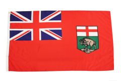 MANITOBA Large 3' X 5' Feet Provincial FLAG BANNER