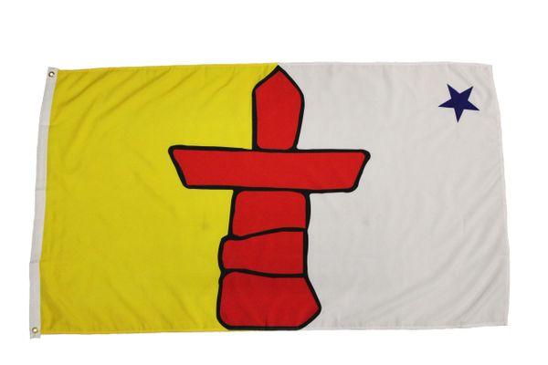 NUNAVUT Large 3' X 5' Feet Territory FLAG BANNER