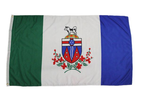 YUKON Large 3' X 5' Feet Territory FLAG BANNER