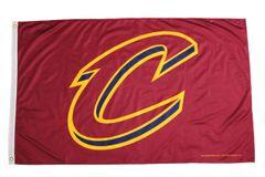 CLEVELAND CAVALIERS NBA Logo 3' X 5' Feet FLAG BANNER