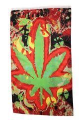 LEAF TYE DYE 5' X 3' Feet BANNER FLAG