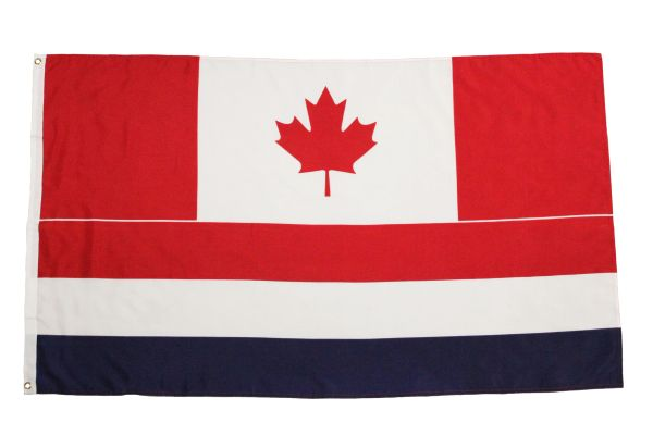CANADA - HOLLAND LARGE 3' X 5' Feet Country FLAG BANNER