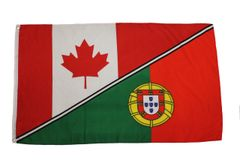 CANADA - PORTUGAL LARGE 3' X 5' Feet Country FLAG BANNER