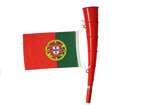 Portugal- Country Flag,Red Horn Toy. High Quality New
