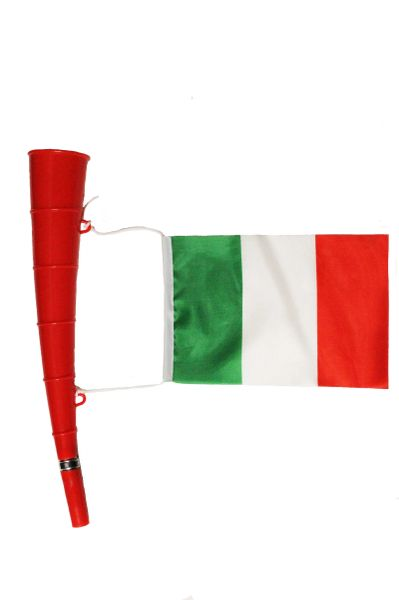 Italy - Country Flag,RED Horn Toy. High Quality New