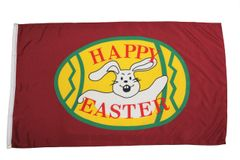 HAPPY EASTER - FLAG 3 X 5 Feet
