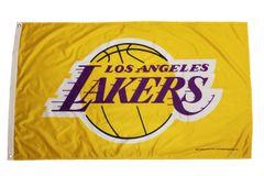 LOS ANGELES LAKERS NBA 3' X 5' FEET Flag Banner (RICO Industries INC)