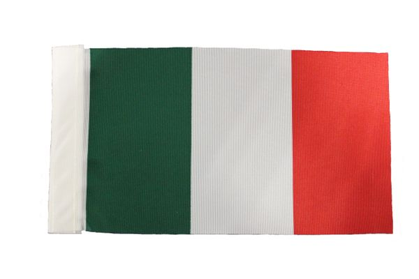 "Italy Country 9"" x 6"" Inch CAR Antenna Flag Polyester New …"