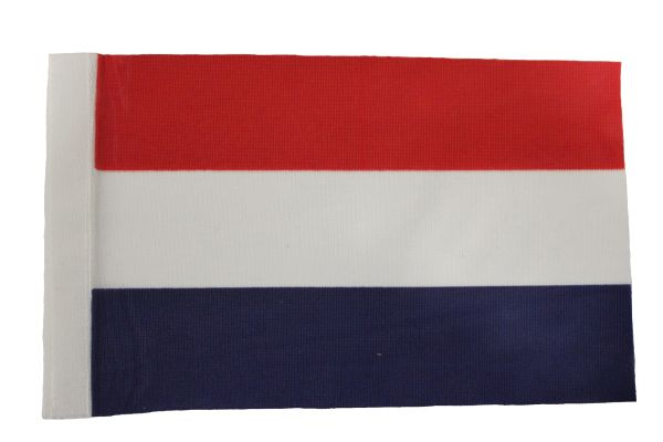 "Netherlands Country 9"" x 6"" Inch CAR Antenna Flag Polyester New …"