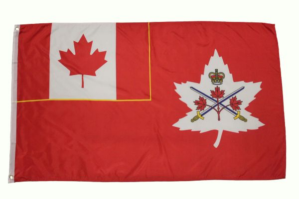 CANADA ARMY ( New ) 3' X 5' FEET PICTURE FLAG BANNER