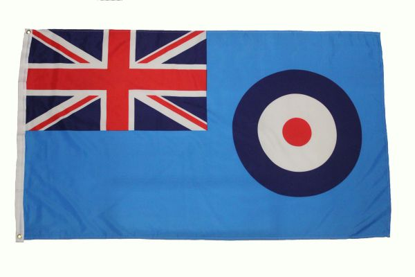 ROYAL AIR FORCE - BRITISH ARMED FORCES 3' X 5' FEET PICTURE FLAG BANNER