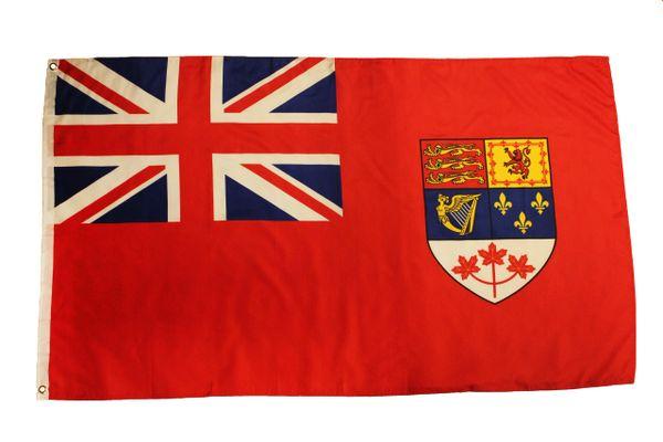 National Flag Of CANADA 1957 - 1965 , 3' X 5' Feet FLAG BANNER
