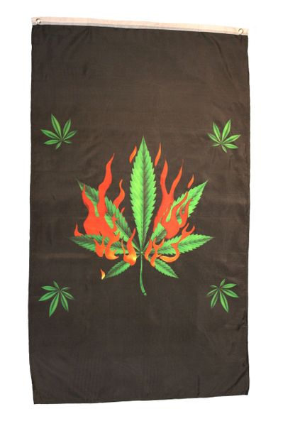 SMOKE ON Large 5' X 3' Feet BANNER FLAG