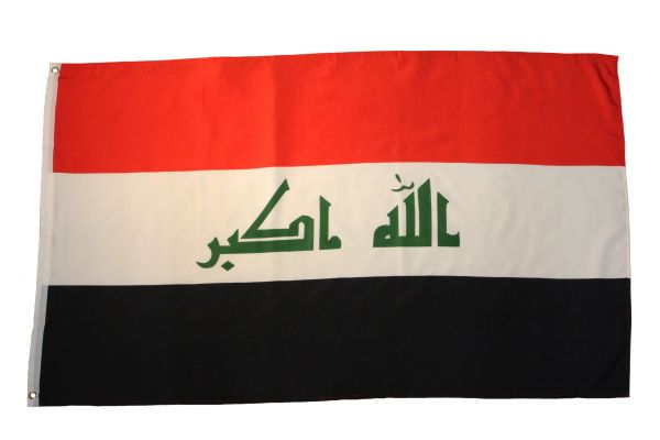 IRAQ New Large Country 3' X 5' Feet FLAG BANNER