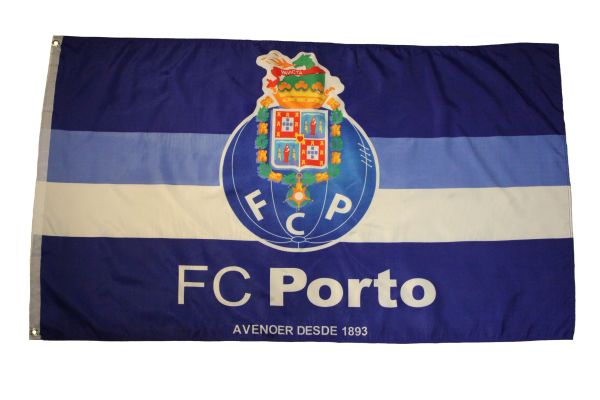 FC PORTO FCP AVENOER DESDR 1893 Large 3' X 5' Feet FLAG BANNER