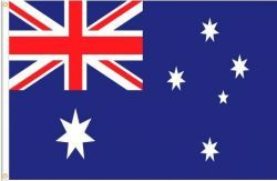 AUSTRALIA LARGE 3' X 5' FEET COUNTRY FLAG BANNER .. NEW AND IN A PACKAGE