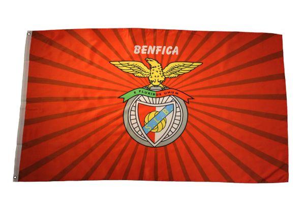 BENFICA S.L.B. E PLURIBUS UNUM Large 3' X 5' Feet FLAG BANNER