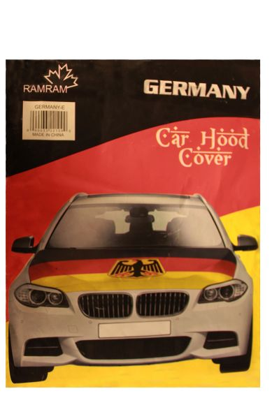 GERMANY Country Flag With Eagle CAR HOOD COVER