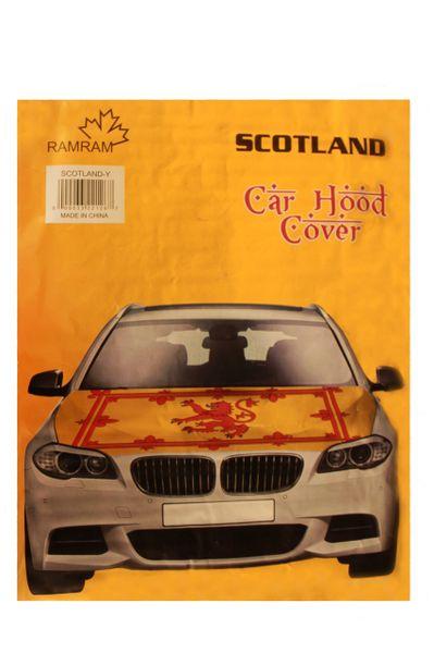 SCOTLAND LION RAMPANT Flag CAR HOOD COVER