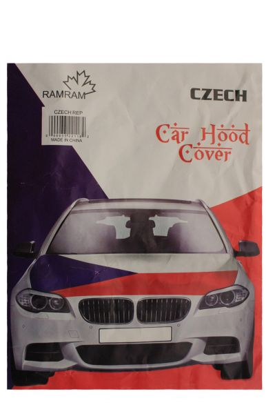 CZECH Republic Country Flag CAR HOOD COVER