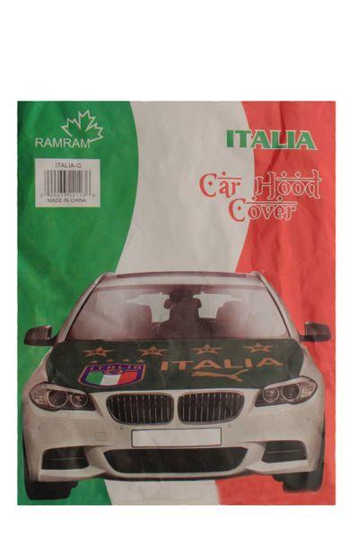 ITALIA ITALY Country Flag , 4 Stars , FIGC Logo CAR HOOD COVER