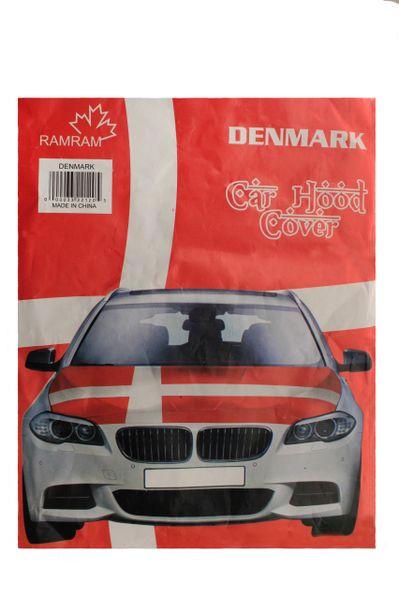 DENMARK Country Flag CAR HOOD COVER