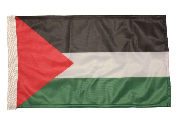 """PALESTINE Country 12"""" X 18"""" Inch CAR FLAG BANNER Without Pole"""