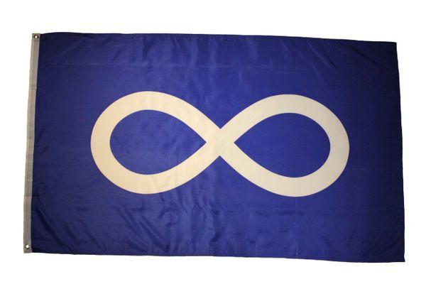 METIS First Nations BLUE 3' X 5' Feet FLAG BANNER