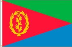 ERITREA LARGE 3' X 5' FEET COUNTRY FLAG BANNER .. NEW AND IN A PACKAGE