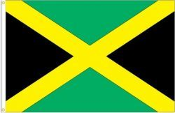 JAMAICA LARGE 3' X 5' FEET COUNTRY FLAG BANNER .. NEW AND IN A PACKAGE