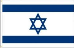 ISRAEL LARGE 3' X 5' FEET COUNTRY FLAG BANNER .. NEW AND IN A PACKAGE