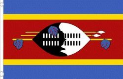 SWAZILAND LARGE 3' X 5' FEET COUNTRY FLAG BANNER .. NEW AND IN A PACKAGE