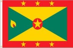 GRENADA LARGE 3' X 5' FEET COUNTRY FLAG BANNER .. NEW AND IN A PACKAGE