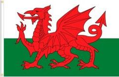 WALES LARGE 3' X 5' FEET COUNTRY FLAG BANNER .. NEW AND IN A PACKAGE