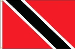 TRINIDAD & TOBAGO LARGE 3' X 5' FEET COUNTRY FLAG BANNER .. NEW AND IN A PACKAGE