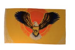 FLYING EAGLE 3' X 5' FEET PICTURE FLAG BANNER .. NEW AND IN A PACKAGE