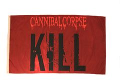 CANNIBAL CORPSE KILL 3' X 5' FEET PICTURE FLAG BANNER .. NEW AND IN A PACKAGE