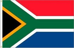 SOUTH AFRICA LARGE 3' X 5' FEET COUNTRY FLAG BANNER .. NEW AND IN A PACKAGE
