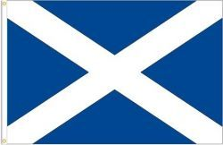 SCOTLAND St. ANDREW LARGE 3' X 5' FEET COUNTRY FLAG BANNER .. NEW AND IN A PACKAGE