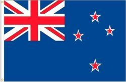 NEW ZEALAND LARGE 3' X 5' FEET COUNTRY FLAG BANNER .. NEW AND IN A PACKAGE