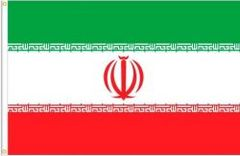 IRAN LARGE 3' X 5' FEET COUNTRY FLAG BANNER .. NEW AND IN A PACKAGE