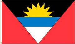 ANTIGUA & BARBUDA LARGE 3' X 5' FEET COUNTRY FLAG BANNER .. NEW AND IN A PACKAGE