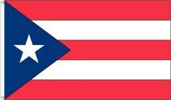 PUERTO RICO LARGE 3' X 5' FEET COUNTRY FLAG BANNER .. NEW AND IN A PACKAGE