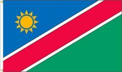 NAMIBIA LARGE 3' X 5' FEET COUNTRY FLAG BANNER .. NEW AND IN A PACKAGE
